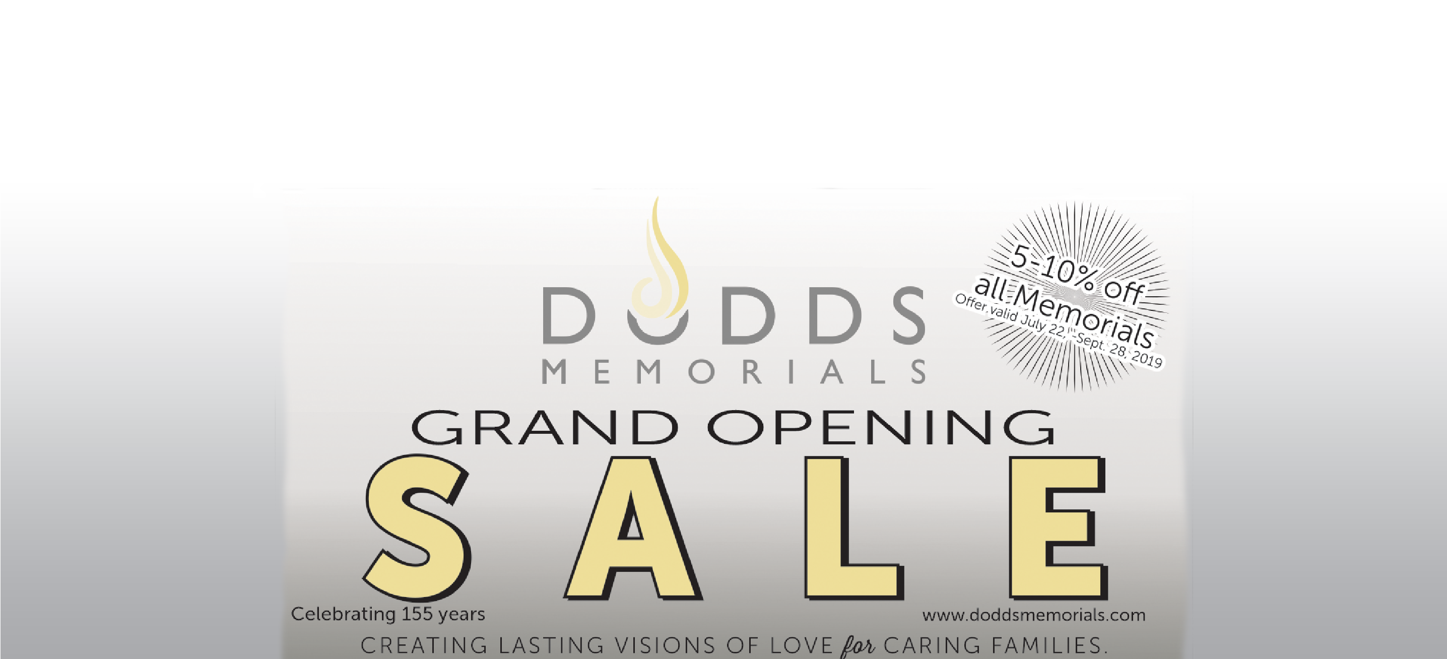 Celebrating our new Monroe location with a Grand Opening Sale!